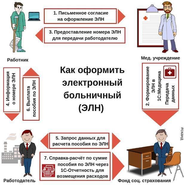 Подробная инструкция по заполнению больничного листа в 2020 году