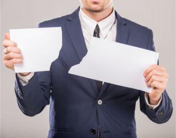 Уведомление об отмене сокращения работника