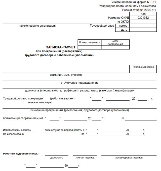 Увольнение в связи с выходом на пенсию по инвалидности: статья ТК РФ, запись в трудовой, выходное пособие