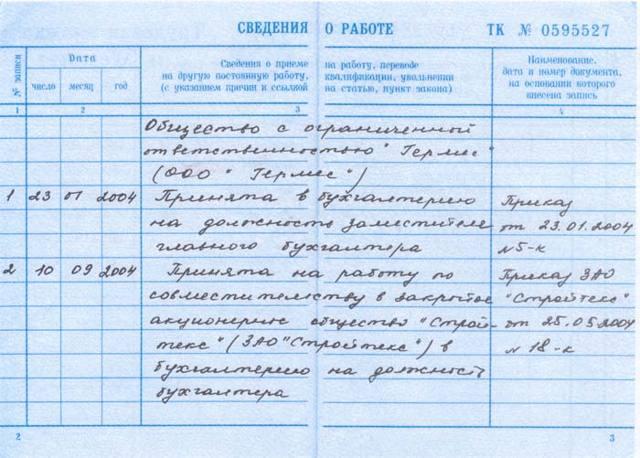 Трудовой договор с совместителем (оформления) по ТК РФ в 2020 году